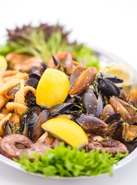 Seafood mix for two 700g